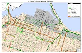 100 Truck Route Map PUBLIC INFORMATION CENTRE Study Area
