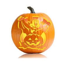 Printable Freddy Krueger Pumpkin Stencils by Vampire Mickey Cartoon Character Pumpkin Carving Ideas For Kids