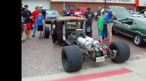 100 Mid Engine Truck Rat Rod With Rear Engine 2016 July 4th Seward Nebraska