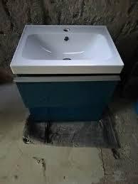 waschtisch ikea godmorgon türkis blau mit odensvik