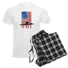 usa flag team kayak men u0027s light pajamas whee design