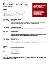 Bold Red Resume Template