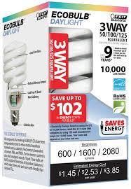 ge energy smart spiral cfl 13 watt t2 spiral 3 pack walmart com