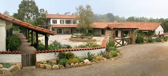 Rustic Ranch Fence Exterior Mediterranean With Entry Gate