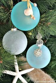 Beach Themed Christmas Ornaments Best Ideas About On Within