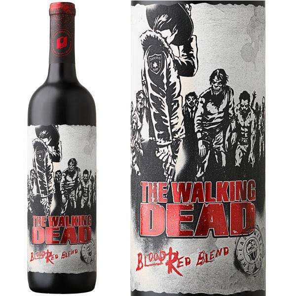 The Last Wine Blood Red Blend, The Walking Dead 2015 - 750 ml