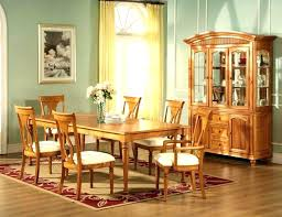Dining Room Table And Hutch Set With Amazing Oak Sets Kitchen