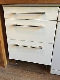 küchen unterschrank ikea faktum 60er weiß mit schubladen