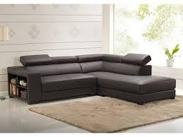 avis vente unique canape canapé d angle en cuir de vachette 5 coloris leeds