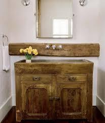 Rustic Bathroom Lighting Ideas by Bathroom Top Salvaged Wood Vanity Design Ideas About Rustic Decor
