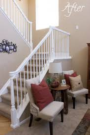 How To Update A Banister – For Less Than $50! – Marlowe Lane Remodelaholic Stair Banister Renovation Using Existing Newel Model Staircase 34 Unique Images Ideas Design Amazoncom Cardinal Gates Shield 5 Roll Clear Baby Gate For Stairs With Diy Best For And Spindles Flat Or Gloss New 40 Gorgeous Christmas Decorating Large Home Decorations Insight The Is Painted Chris Loves Julia 15 Ft Child Safety Indoor Guardks How To Update A Less Than 50 Marlowe Lane Installing Without Drilling Into Insourcelife