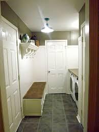 Mudroom Laundry Room Update Hardwood Floors Rooms Shelving Ideas Storage