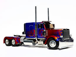 100 Optimus Prime Truck Model Transformers Movie Truck And Figure RPF Costume And