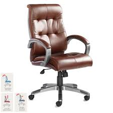 Catania Leather Faced Executive Chair In Brown | Costco UK Invicta Office Chair Xenon White Shell Leather Lumisource Highback Executive With Removable Arm Covers Sit For Life Tags Star Ergonomic Family Room Amazoncom Btsky Stretch Cushion Desk Chairs Seating Ikea Costway Pu High Back Race Car Style Merax Ergonomic Office Chair Executive High Back Gaming Pu Steelcase Leap Reviews Wayfair Shop Ryman Management Grand By Relax The Ryt Siamese Cover Swivel Computer Armchair