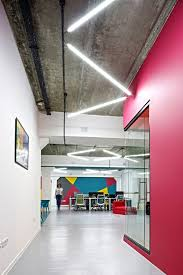 Office Colorful And Industrial Space In Armenia