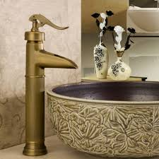 Antique Faucets Bathroom Sink by Aliexpress Com Buy Brass Single Hole Antique Faucet Bronze