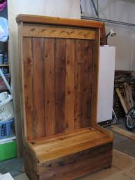Gallery 20 Images Of The Wonderful Entryway Storage Bench With Coat Rack