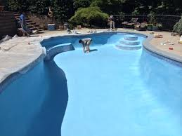 is cleaning efflorescence from pool tile repair a d i y project