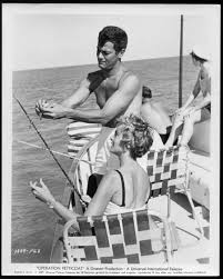 Janet Leigh Tony Curtis Stock Photos U0026 Janet Leigh Tony Curtis by Tony And Janet During The Filming Of