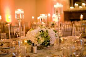 Elegant Crystal Candle Stands As Centerpieces