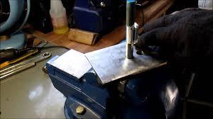 Decorative Sheet Metal Banding by Simple Jig For Bending Metal Flat Stock Youtube
