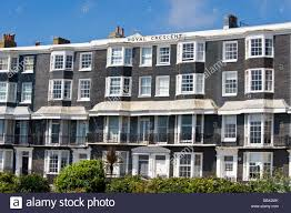100 Brighton Townhouses On Royal Crescent East Sussex England UK