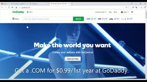 Get Domains For 99 Cent At GoDaddy - Including .COM | Godaddy Coupon ... Godaddy Renewal Coupon Promo Code 85 Off Aug 2019 Coupons 2017 Hosting Review 20 Off Namecheap In August Godaddy 50 November 2018 Get 40 A Free Xyz Domain Name At 123reg Spring Codes 1mo 99 Discounts 2019s For Save Renewal Code Promo Aliveuponcom Coupon Codes Upto 80