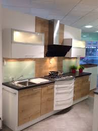 moderne küche mit fronten in arlington eiche modell 2093