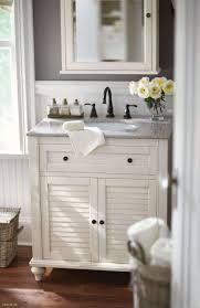 Lovely Allen and Roth Bathroom Vanities