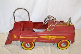 100 Vintage Truck Parts Antique Pedal Fire Engine 9 Car 1 X Coldart