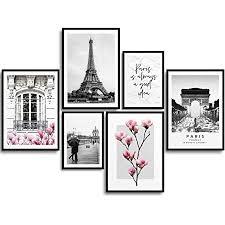 monoko premium poster wohnzimmer bilder set 6 motive als stilvolle wanddeko set magnolien balkon 4x a3 2x a4