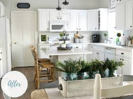 Before After A Bland Kitchen Gets Farmhouse Pick Me Up From