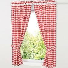 details zu 2 st gardinen schlafzimmer landhaus vorhänge blickdicht set lochleiste rot