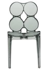 chaise en plexiglas chaise design cercle en plexiglas noir