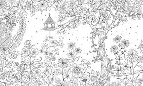 Secret Garden Colouring In For All Life And Style