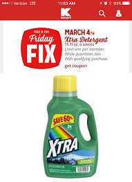 Kmart Christmas Trees Black Friday by Friday Fix Freebie At Kmart Free Xtra Laundry Detergent