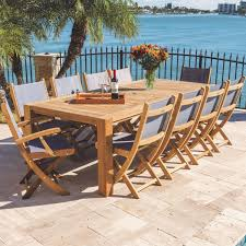 Royal Teak Collection Sailmate 11 Piece Teak Patio Dining ... And Teak Fniture Timber Sets Chairs Round Porch Fa Wood Home Decor Essential Patio Ding Set Trdideen As Havenside Popham 11piece Wicker Outdoor Chair Sevenposition Eightperson Simple Fpageanalytics Design Table Designs Amazoncom Modway Eei3314natset Marina 9 Piece In Natural 7 Brampton Teak7pc Brown Classics