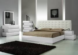 Ideas for Bedroom with White Modern Bed