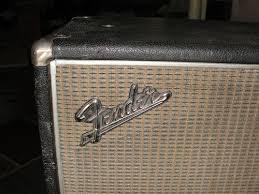 Fender Bassman Cabinet Screws vintage 1968 fender bassman 2x15 cabinet w original speakers