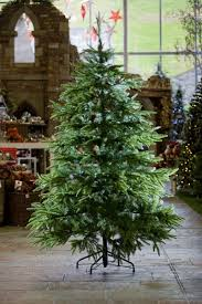 7ft Christmas Tree Uk by Natural Looking Artificial Christmas Tree Christmas Lights