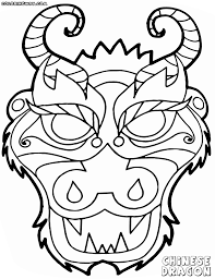 More From Site Chinese Flag Coloring Pages Dragon