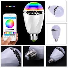 APP Control Colorful Light Bulb Bluetooth Speaker LED Music Bulb