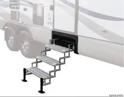 100 Truck Camper Steps Compare TorkLift GlowStep Vs AlumiTread Manual Etrailercom