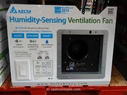 Humidity Sensing Bathroom Fan Wall Mount by Costco Led Lighting To Bathroom Interiordesignew Com