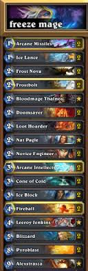 countering the flavor of the week 10 freeze mage hearthstone