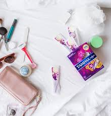 Uterine Lining Shedding Period by Tampax Tampons