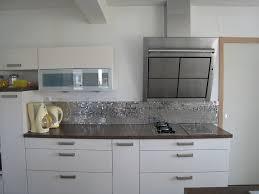 crédence cuisine à coller sur carrelage crdence cuisine inox credence en inox pour cuisine avec 1 decoupe