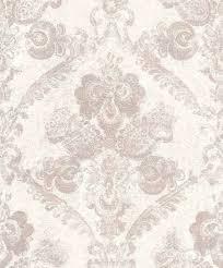 casa padrino barock textiltapete weiß rosa 10 05 x 0 53 m wohnzimmer deko accessoires