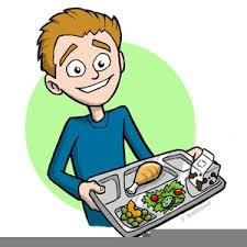 Free Clipart School Lunch Tray Image
