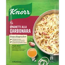 knorr fix würzbasis spaghetti alla carbonara 1 pack 36g